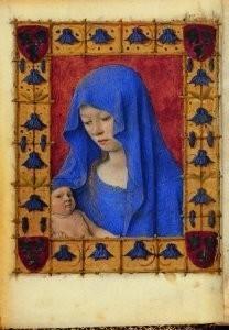 Jean Fouquet (ca.1420-1477/81)-Getijdenboek- Postkaart