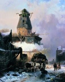 Wijnand Nuijen (1813-1839) -W.Nuijen/De Oude Molen/GM- Postkaart