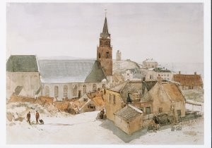 Charles Rochussen (1814-1894) -C.Rochussen/Schevening./GM- Postkaart