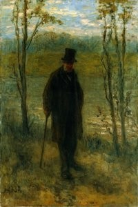 Jozef Israels (1824-1911) -Levensavond- Postkaart