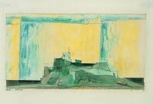 Lyonel Feininger (1871-1956) -kustwacht- Postkaart