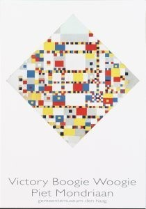 Mondriaan (1872-1944)Mondrian -Victory Boogie Woogie (1942-1944)- Postkaart