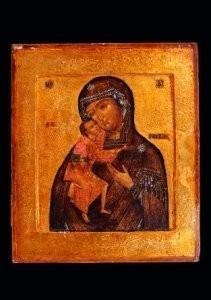 Anoniem -Moeder Gods Feodorovskaja- Postkaart
