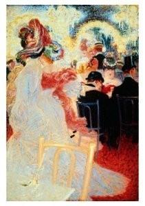 Jan Sluijters (1881-1957) -CafT Olympia- Postkaart