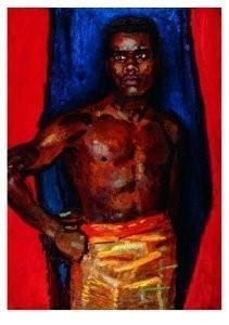 Jan Sluijters (1881-1957) -Negerportret- Postkaart