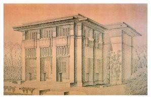 J.F.L. Chijssels -Ontwerp monument- Postkaart