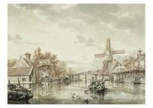 Jacob Cats (1741-1799) -De Wetering- Postkaart