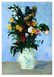 Pablo Picasso (1881-1973) -Vase de fleurs- Postkaart
