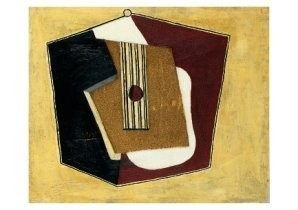 Pablo Picasso (1881-1973) -Guitare- Postkaart