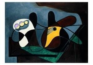 Pablo Picasso (1881-1973) -Compotier et guitar- Postkaart