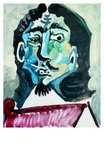 Pablo Picasso (1881-1973) -Mousquetaire- Postkaart