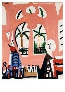Pablo Picasso (1881-1973) -l'atelier- Postkaart