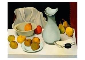 Auguste Herbin (1882-1960) -Stilleven witte kan, Still life with white jug- Postkaart