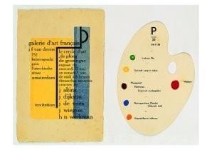 Hendrik Nic.Werkman (1882-1945-Uitnodigingskaart- Postkaart