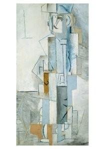 Pablo Picasso (1881-1973) -Harlekijn- Postkaart