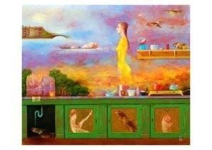 Melle (1908-1976) -Keukentje- Postkaart