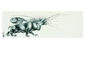 Melle (1908-1976) -Nieuwjaarskaart- Postkaart