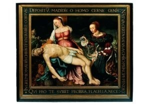 Mechtelt toe Boecop (1520-1598-Pieta met Maria Magdalena- Postkaart