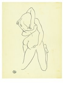 Cees Bantzinger (1914-1985) -Omhelzing- Postkaart