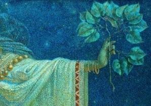 Karel Vitezslav Masek -The prophet- Postkaart