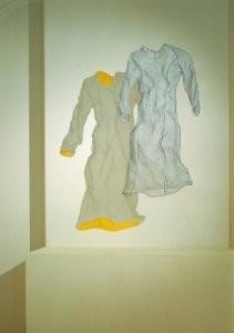 Caroline Broadhead (1950) -Dress with Holes- Postkaart