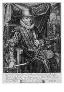 Jacob W. Delff  (1619-1661) -Willem van Oranje- Postkaart