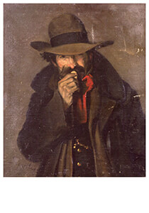 Theophile-Alexandre Steinlen -Crainquebille- Postkaart
