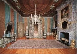 -Slaapkamer koningin Mary II (1662-1695)- Postkaart