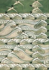 Chris Lebeau (1878-1945) -Decoratief ontwerp- Postkaart