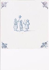 -Kinderspel - 3 koningen- Postkaart