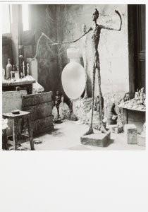 V.P.S. Esser (1914-2004) -Het atelier van Alberto Giacommetti (1901-1966)- Postkaart