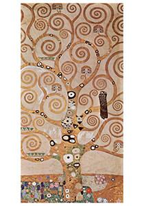 Gustav Klimt (1862-1918) -Entwurf für den Wandfries im Palais Stoclet in Brüssel, deta- Postkaart