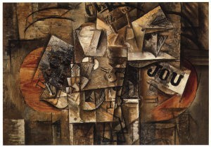 Pablo Picasso (1881-1973) -Stilleven dode voge- Postkaart