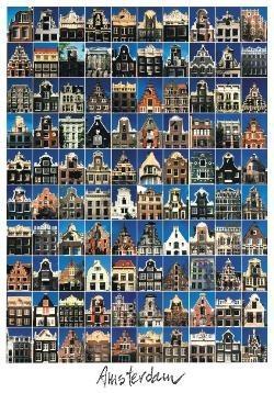 Tim Killiam (1947-2014) -100 Gables, Amsterdam- Postkaart