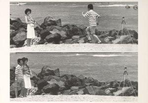 Sakamoto, -'selfportrait- Postkaart