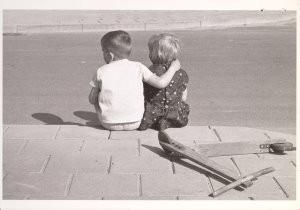 J.H.J. van Wijlick (1928-2014)-Jac.&Edith, mei 1966- Postkaart