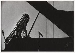 Georg Oddner (1923-2007) -Oddner/ Gerry Mulligan- Postkaart