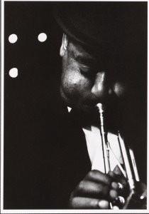 Georg Oddner (1923-2007) -Oddner/ Dizzy Gillespie- Postkaart