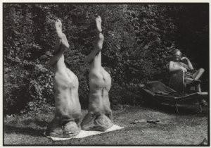 Rolf Neeser (1959) -Kopfstand- Postkaart