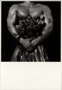 Erwin Olaf (1959) -Tulips (Mohamed)- Postkaart