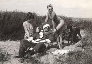 Auke Bergsma (1950) -Prettige Kerstvakantie- Postkaart