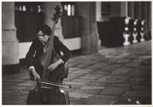 Marian Bakker -Bewth in Edam- Postkaart