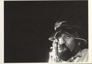 John R.Johnsen (1945-2016) -Johnsen/ Sonny Rollins- Postkaart