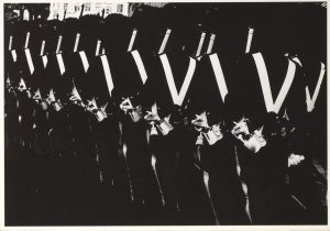 Aart Klein (1909-2001) -Klein, A./ Royal Guards- Postkaart