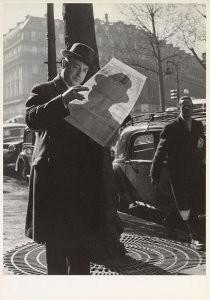Sem Presser (1917-1986) -Presser/Place de l'Opera- Postkaart