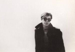 Nat Finkelstein (1933-2009) -N.Finkelstein/Warhol white wal- Postkaart