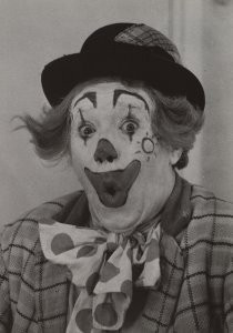 Dirk de Herder (1914-2003) -Pipo de Clown, 1960- Postkaart