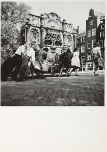 Dirk de Herder (1914-2003) -Het Pierement, Amsterdam, 1946- Postkaart