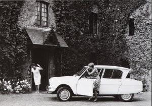 Citroen -Citroën/3 Amies- Postkaart