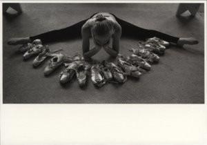 Martha DiMeo -Susan Manchak, Principle Dancer, State Ballet of M- Postkaart